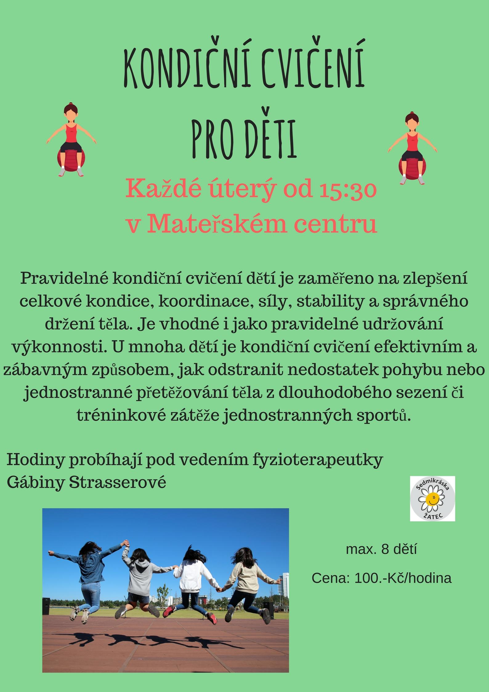 Sedmikráska - kondiční cvičenípro děti